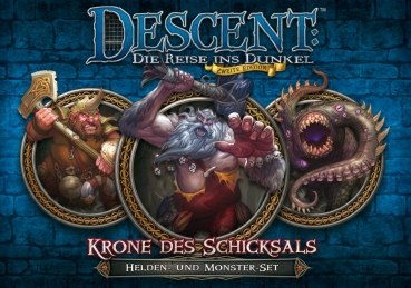 Descent: Krone des Schicksals (Helden- und Monster-Set)