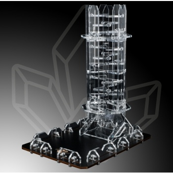 Blackfire Dice Tower - Crystal Twister