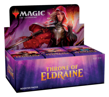 Throne of Eldraine Booster Display -E-