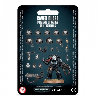 Raven Guard Primaris Upgrades & Abziehbilder (48-56)